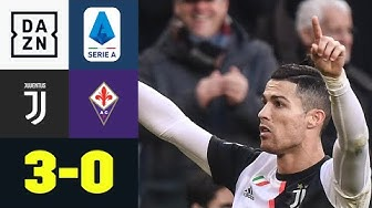 Ronaldo sichert die Punkte vom Punkt: Juventus Turin - AC Florenz 3:0 | Serie A | DAZN Highlights