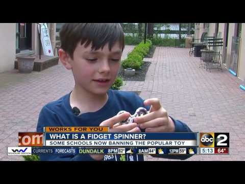 Why schools are banning fidget spinners