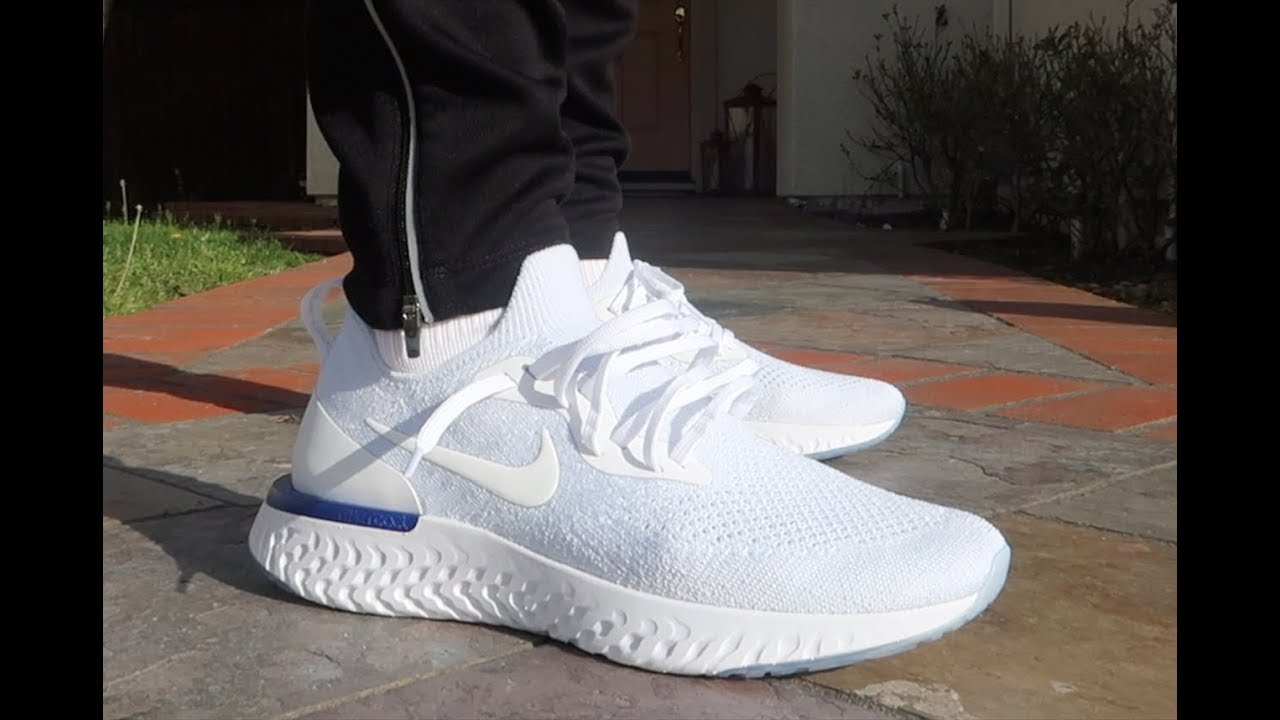 a6634c3af3827 BETTER THAN BOOST  NIKE EPIC REACT UNBOXING REALEST ON FOOT ON YOUTUBE!