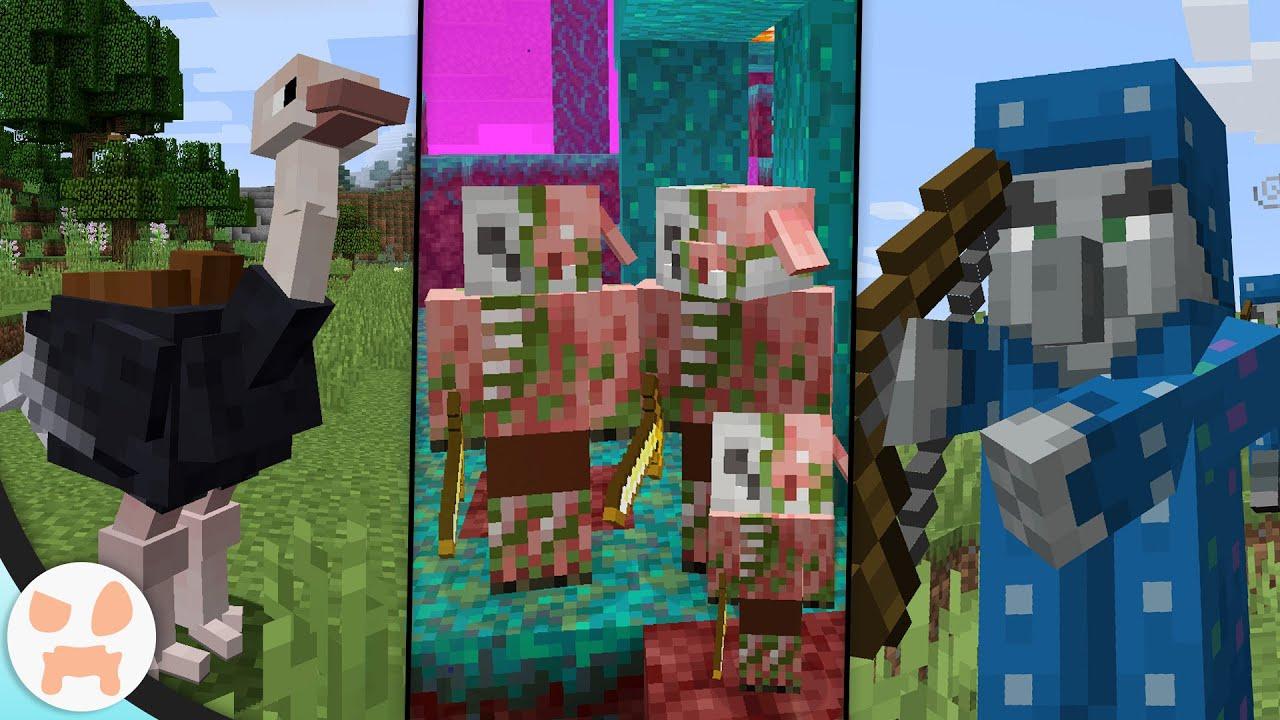 Minecraft mobs new Minecraft Live