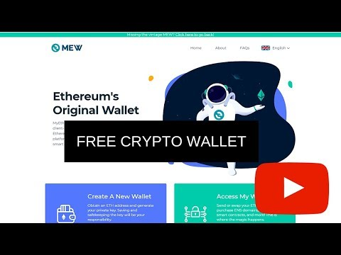 How To Create an Ethereum Wallet (MEW) My Ether Wallet