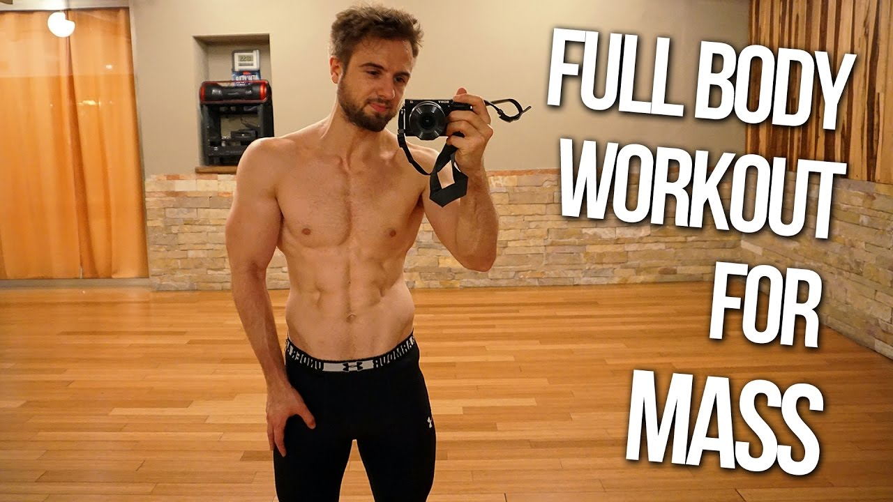 Full Body Workout Routine For Muscle Building