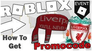 [PROMO CODE] HOW TO GET THE LIVERPOOL FC SCARF! [READ DESC] [ROBLOX]