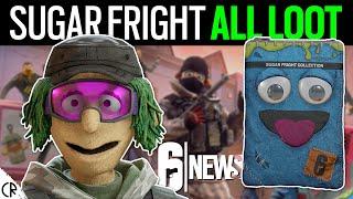 🎃 Sugar Fright All Loot & Gameplay - Halloween 👻🎃 - 6News - Rainbow Six Siege
