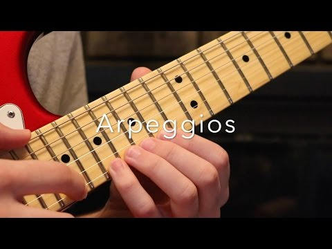Learn This Crazy Sweeping/String Skipped Tapped Arpeggio Sequence