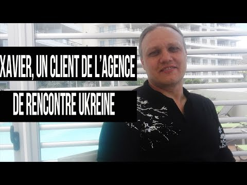 Xavier, un client de l'agence de rencontre Ukreine