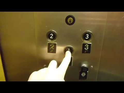 NICE Otis Lexan Hydraulic Elevator - Former Macy's - Glendale Town Center - Indianapolis, IN
