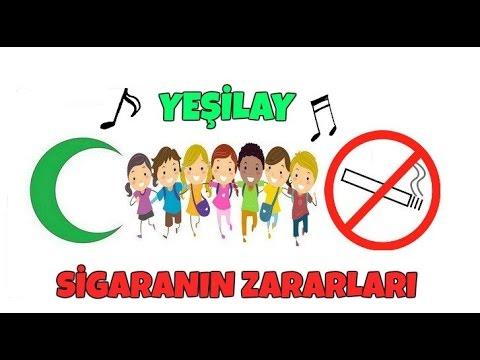 Sigaranın Zararları şarkısı Yeşilay şarkısı Youtube