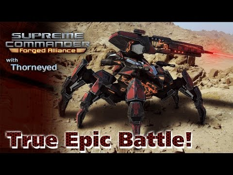 Supreme Commander | Тру Эпик Баттл!