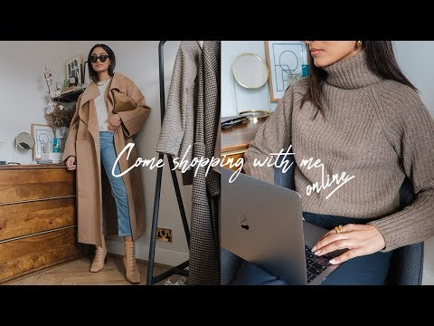 SHOP WITH ME ONLINE  | LOOKBOOK. FARFETCH, ZARA & MANGO