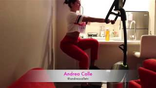 Andrea Calle's Instagram Workout