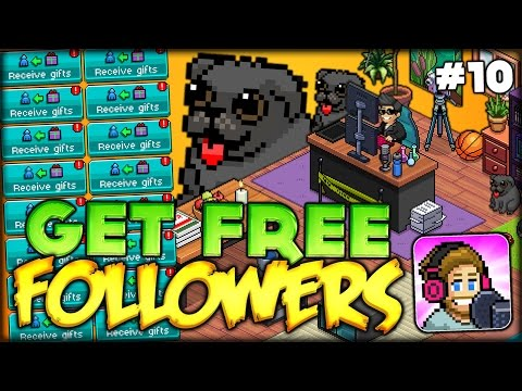 NEED FOLLOWERS? THIS IS THE PLACE!! GET FREE FOLLOWERS AND LEVEL UP! (PewDiePie Tuber Simulator #10)