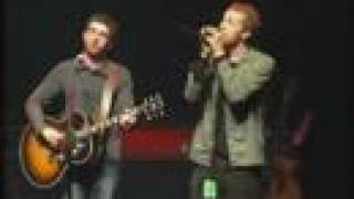 Oasis feat. Chris Martin -- Live Forever