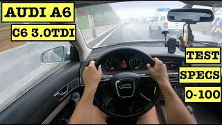 2004 AUDI A6 C6 3.0 V6 TDI 225hp Limousine | POV Test Drive | 0-100 | Specs