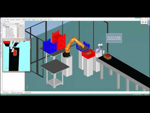 Advanced Simulation of ROS in Process Simulate