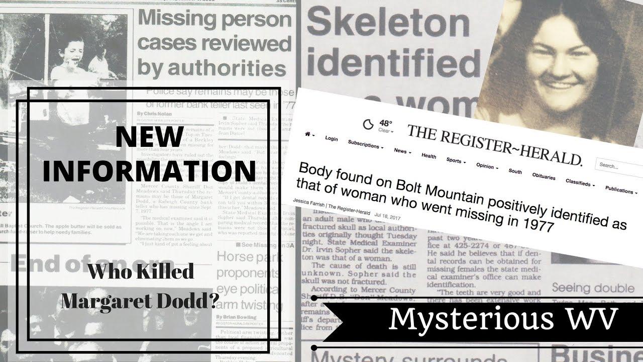 Margaret Dodd Murder: New Information | Mysterious WV