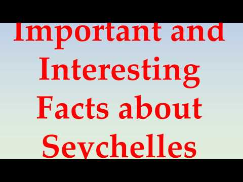 Cool, Funny, and Fun Facts about Seychelles