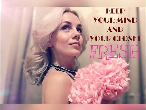 10 ways to keep your closet fresh. Say no to odor. 10 вариантов для свежести вашего гардероба.