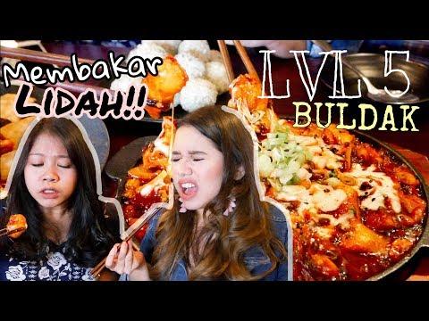 SADIS!! BULDAK LVL 5 CHALLENGE di 88 Korean Kitchen! PEDES GILA!!