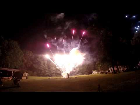"""Fireworks on the Hill 2014 """"Shot At The Night"""""""