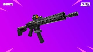 The New TACTICAL ASSAULT RIFLE In Fortnite Season 9 (9.01 Fortnite Update)