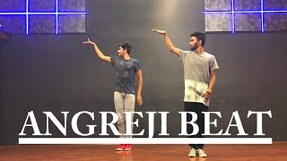 """Angreji Beat - Gippy Grewal Ft. Honey Singh"" Prateek Shettigar Choreography • Dancepeople Studios"
