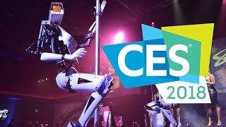Самые странные новинки CES 2018 в Лас-Вегасе