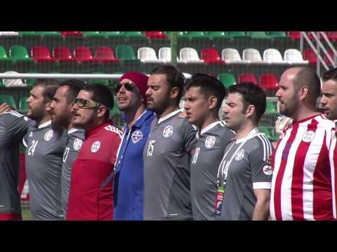 """Art-football"" 26.05.18 - United Kingdom - Paraguay"