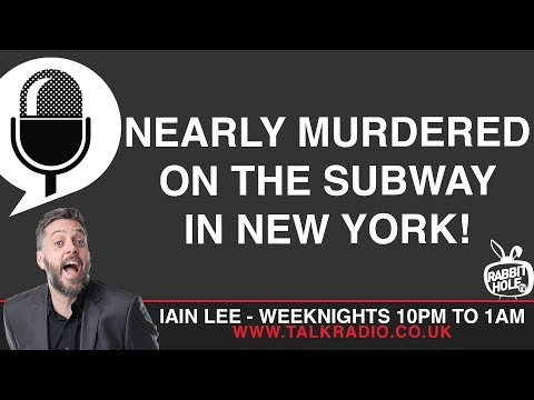 Nearly murdered on the Subway in New York!