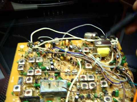 "Cobra 148/148F *RCI made* electrical mod - side mic ""Malaysia"""