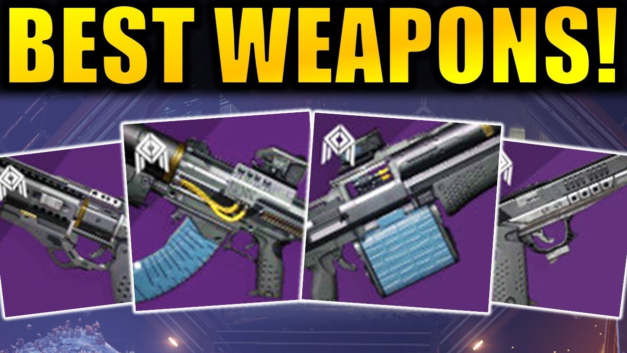 Best New Seraph Weapons Pvp Pve God Rolls Season Of The Worthy Youtube