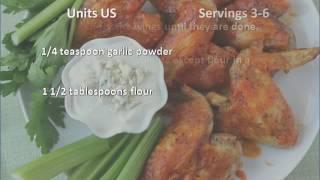 Applebees Chicken Wings recipe
