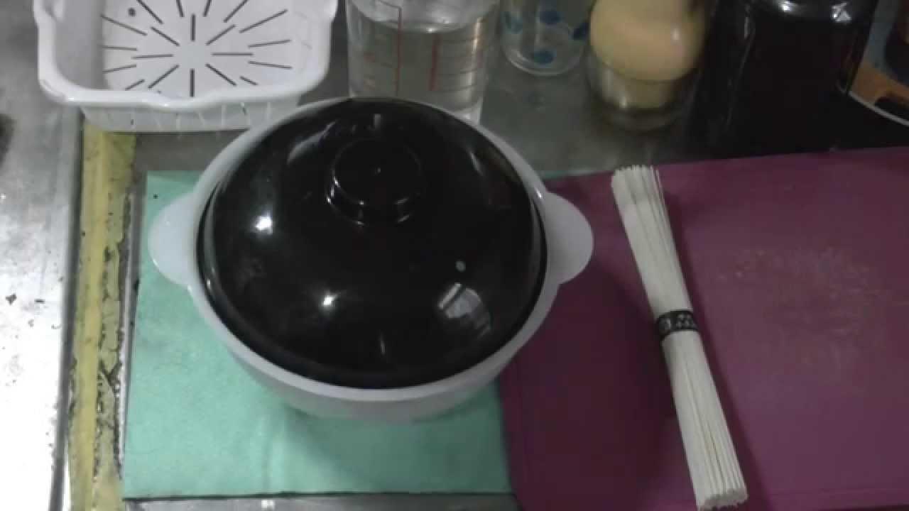 レンジで簡単 新潟産のラーメンどんぶりで にゅうめんを作ってみました Youtube