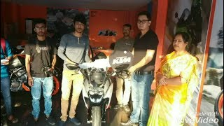 Taking Delivery New KTM RC 200 2017 model