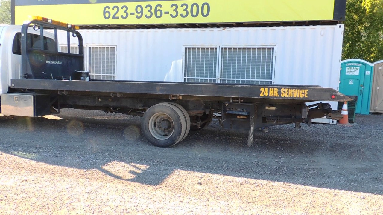 All Chevy chevy c6500 flatbed : 2003 Chevrolet C6500 20' Roll Back Tow Truck at Public Auction ...