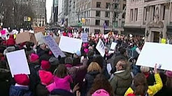 Women's March ignores Trump's hard work