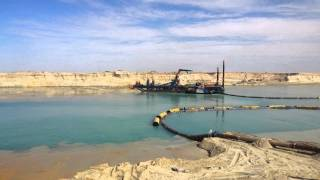 مشهد عام للحفر فى مارس 2015