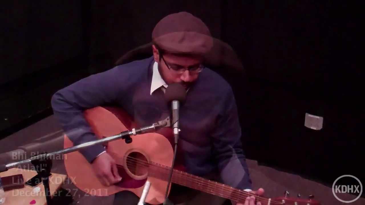 "Bhi Bhiman ""Atlatl"" Live at KDHX 12/27/11 (HD) - YouTube"