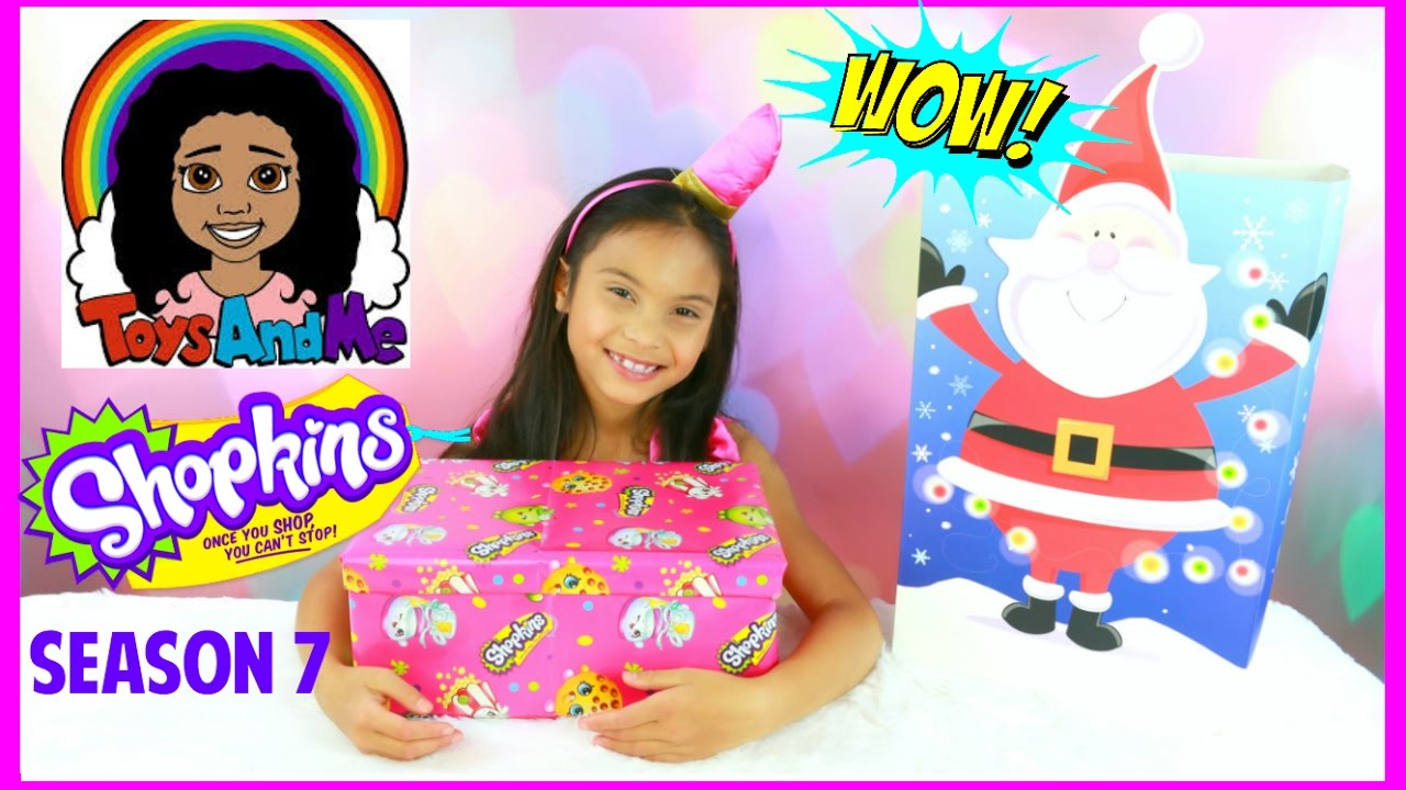SHOPKINS SEASON 7 SURPRISE TOYS OPENING PRESENTS FROM TOYS ...