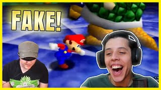 "Cheese reacts to ""Obvious Cheater Fakes Blindfolded Super Mario 64 Speedrun"""