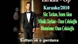 Tarkan - Op - (2010) karaoke