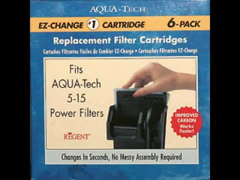 Aqua tech 10 20 hang on power filter youtube youtube.