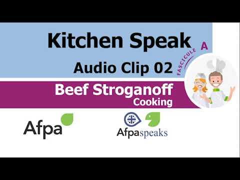 Clip 02 Cooking Beef Stroganoff