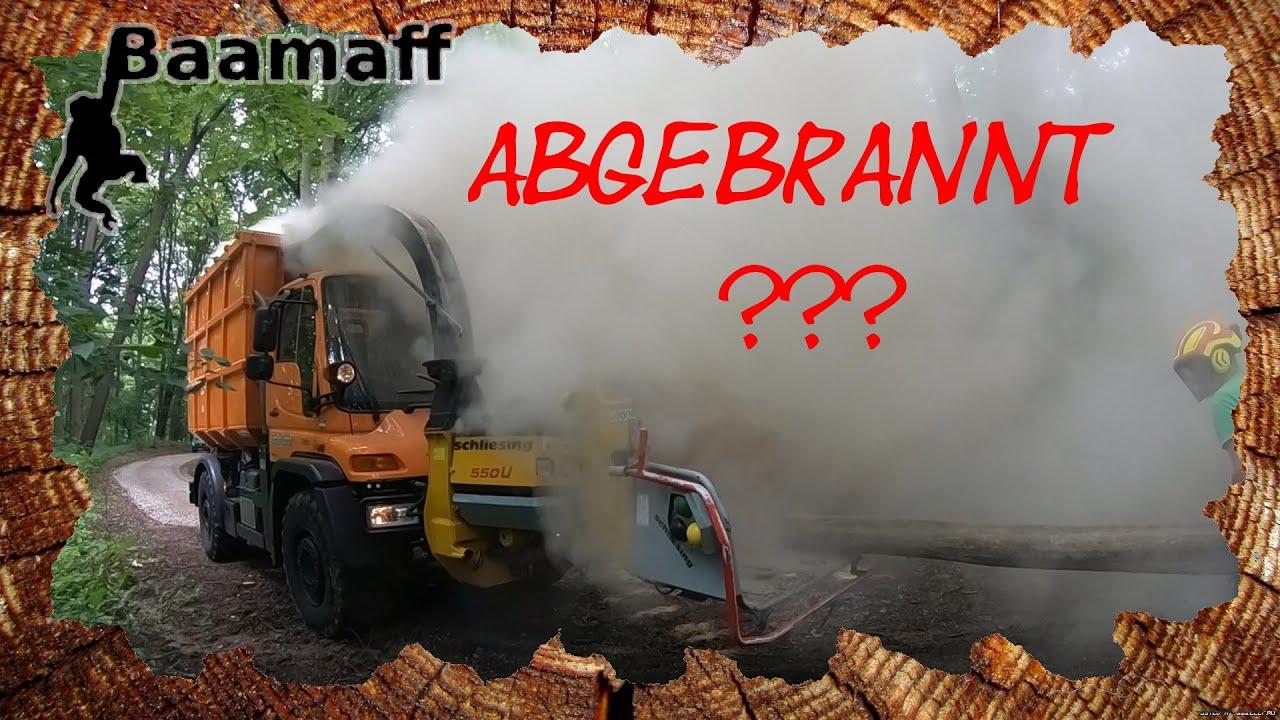🔥Feuer im UNIMOG ???🔥 - Baumfällung, Baumklettern und große Technik