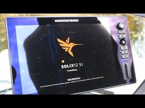 How to Update Humminbird SOLIX Software - YouTube