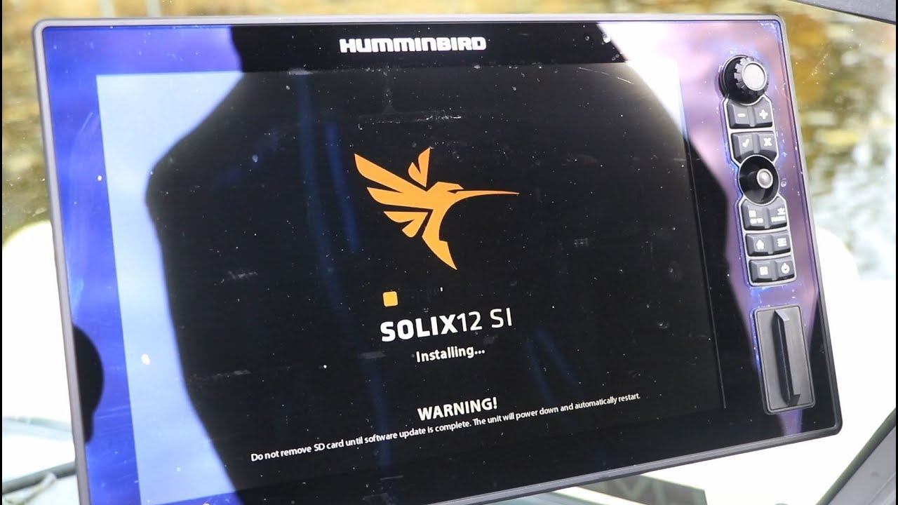 Humminbird® solix® 10 / sar hawk® surveyor software accessory.