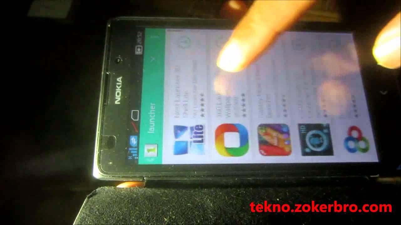 Merubah Tampilan Ui Nokia Xl Youtube