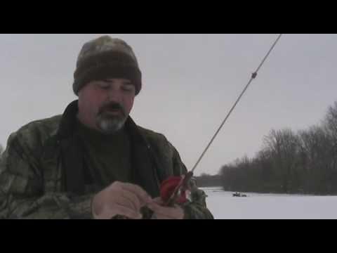 Ice fishing clay county indiana 1 8 10 youtube for Ice fishing indiana
