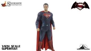 Hot Toys Batman V Superman SUPERMAN Video Review