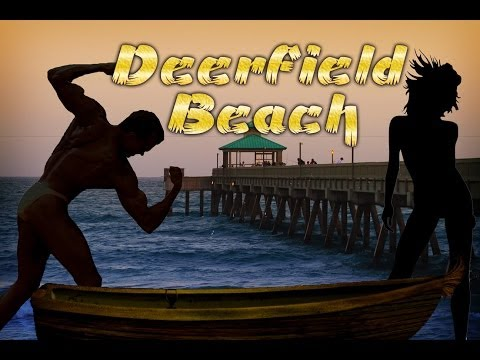 Deerfield Beach Florida USA - Sexy Ladies on the Beach, Best Spots